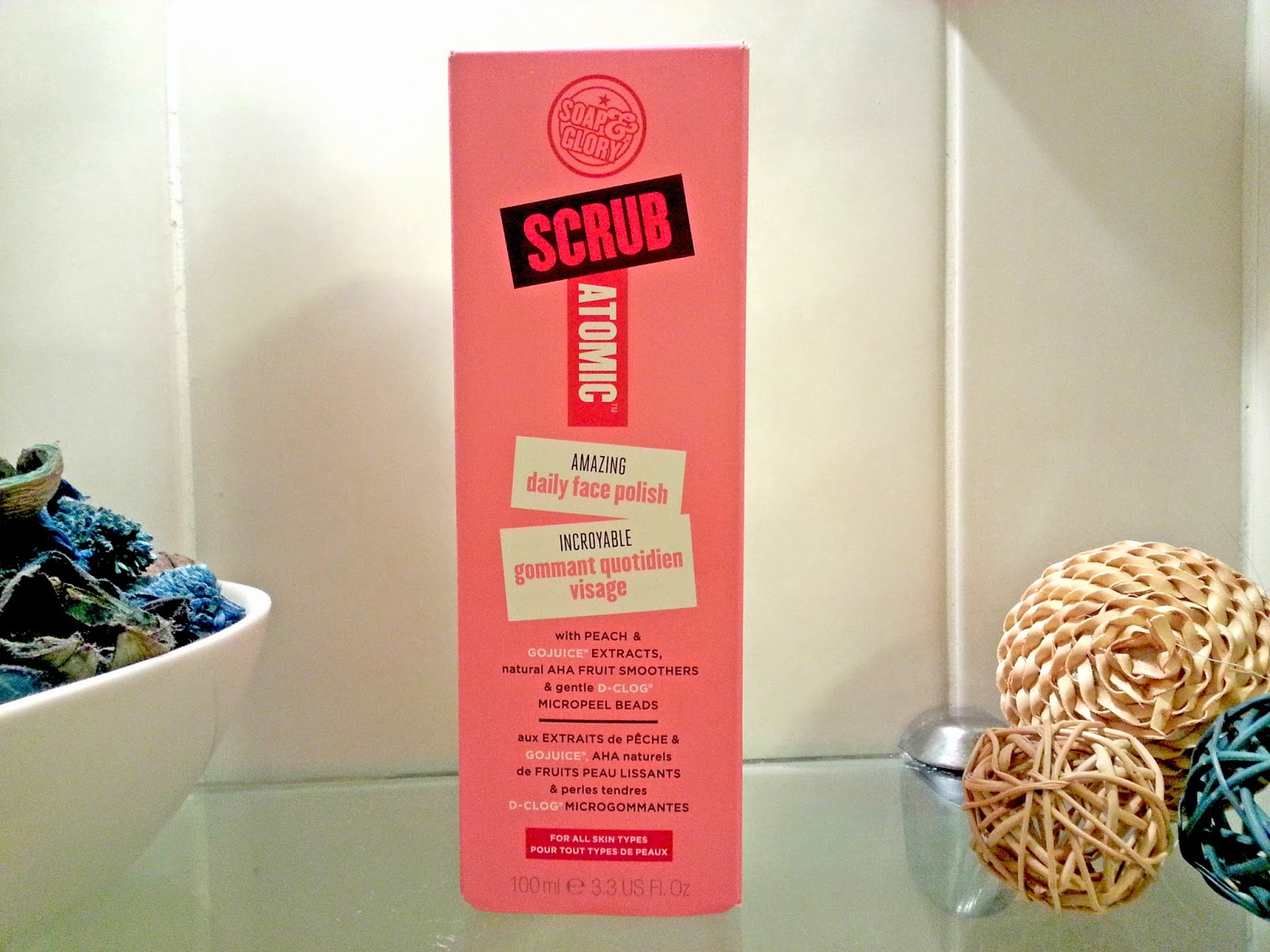 Soap and Glory Scrubatomic Daily Face Polish Review
