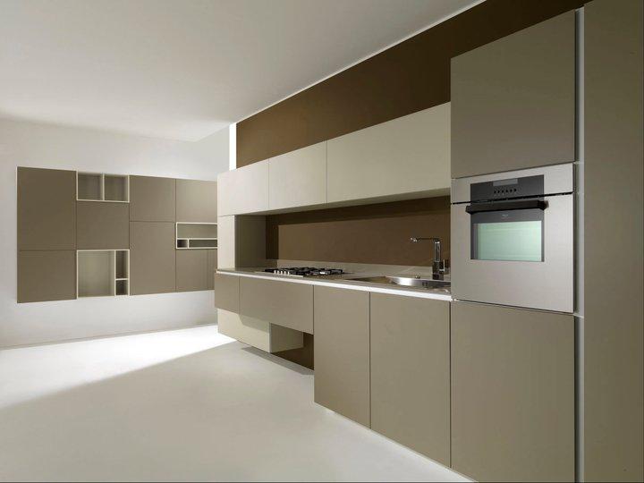 Colores tierra en la cocina moderna cocinas con estilo - Cocina de color ...
