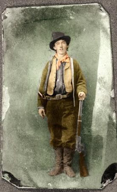 Clyde's hero, Billy the Kid !