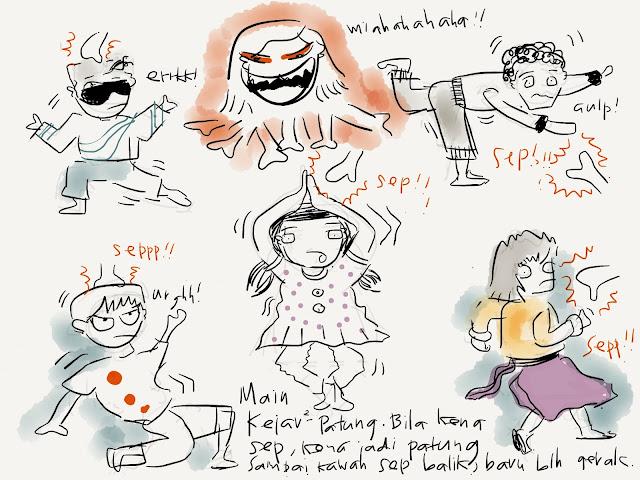 Ipad Paper Sketch: Kejar2
