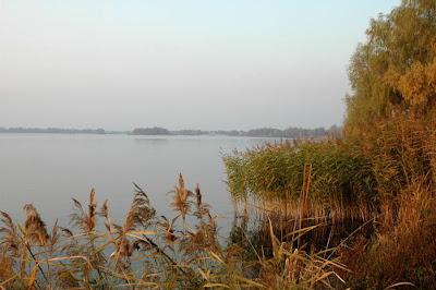 Фото Укринформ: осенний закат