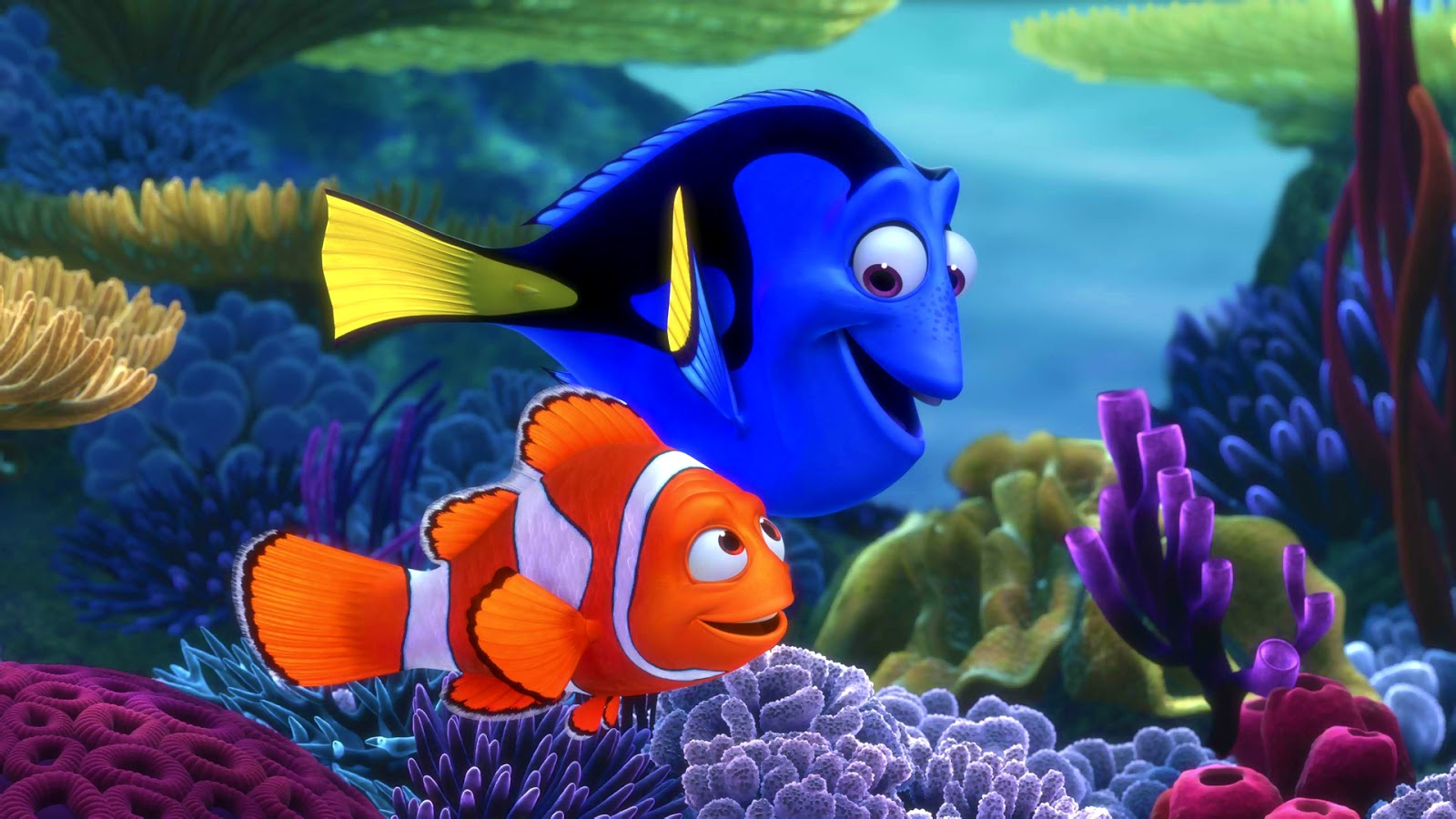 Wallpaper Mansion Finding Nemo 3d Wallpaper