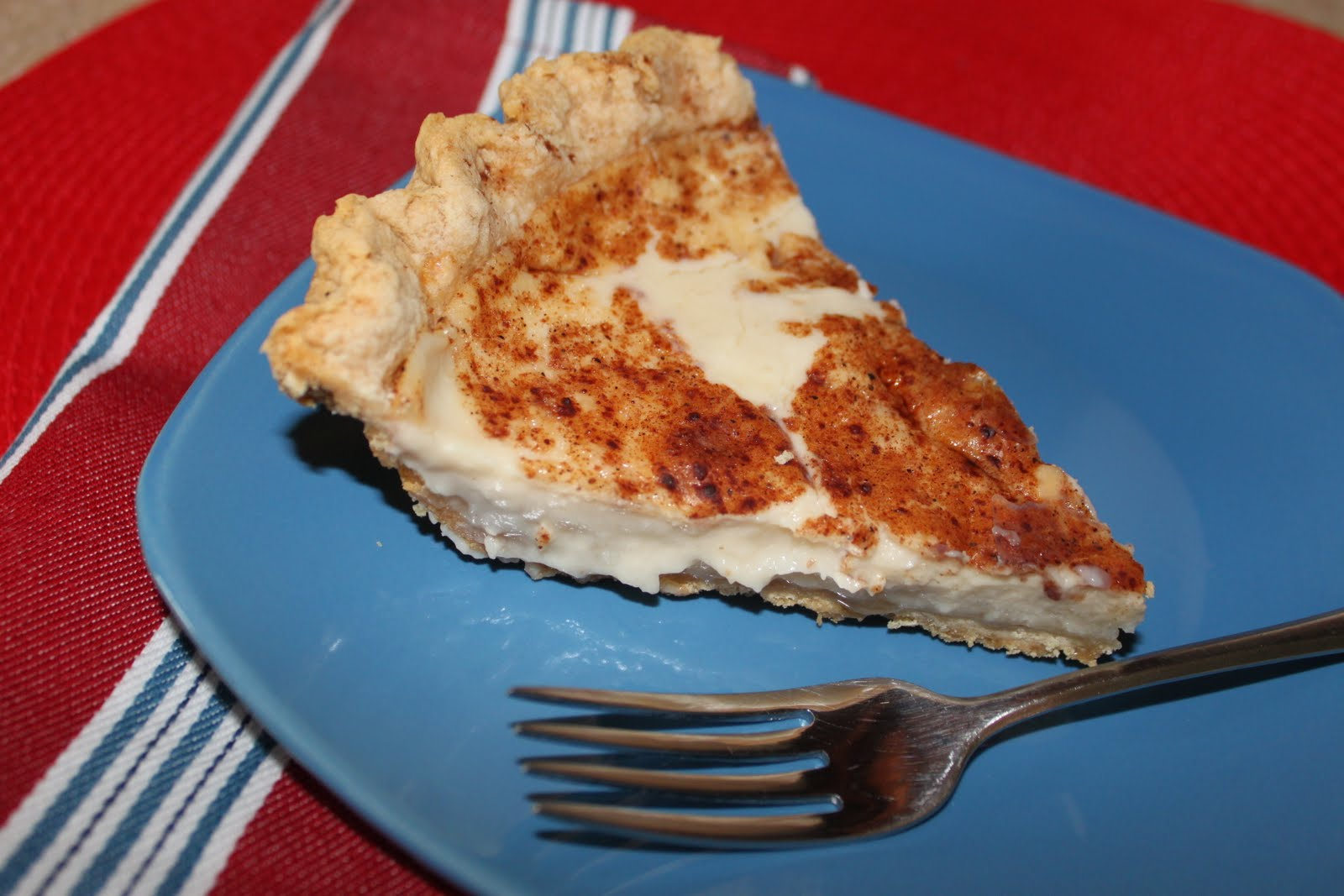 Hoosier Sugar Cream Pie - Two Maids a Milking