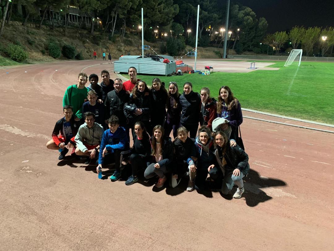Grup d'entreno Temporada 2019