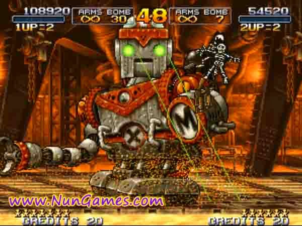 how to play metal slug 7 on pc