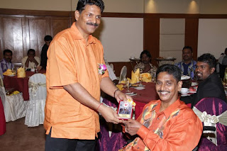 Appreciation given by YB. Senator Mr. A. Kohilan Pillay