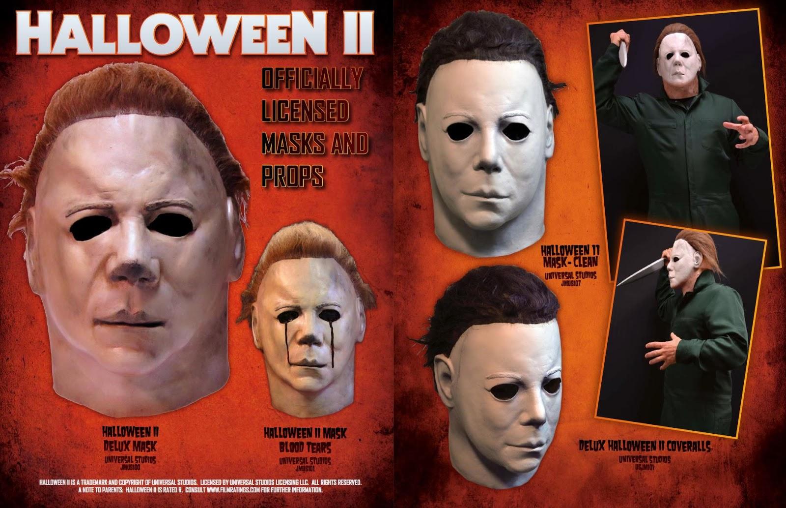 Pizowell 39 s blog trick or treat studios announces new halloween michael myers masks - Masque halloween film ...