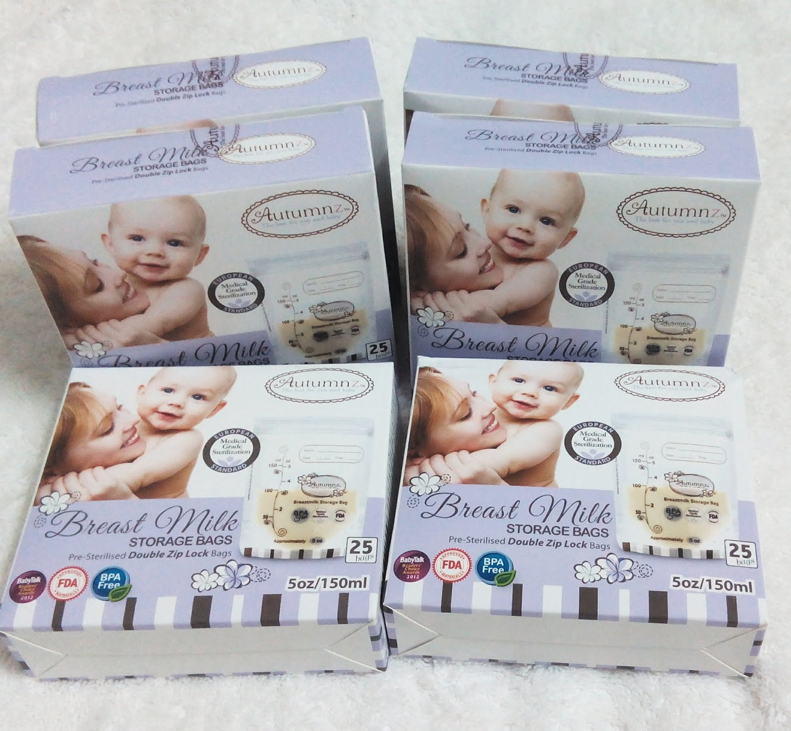 Autumnz Breastmilk Storage Bags