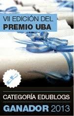 1° LUGAR en el VII PREMIO UBA 2013, 3° en la edición 2012 y 5° en la del 2011