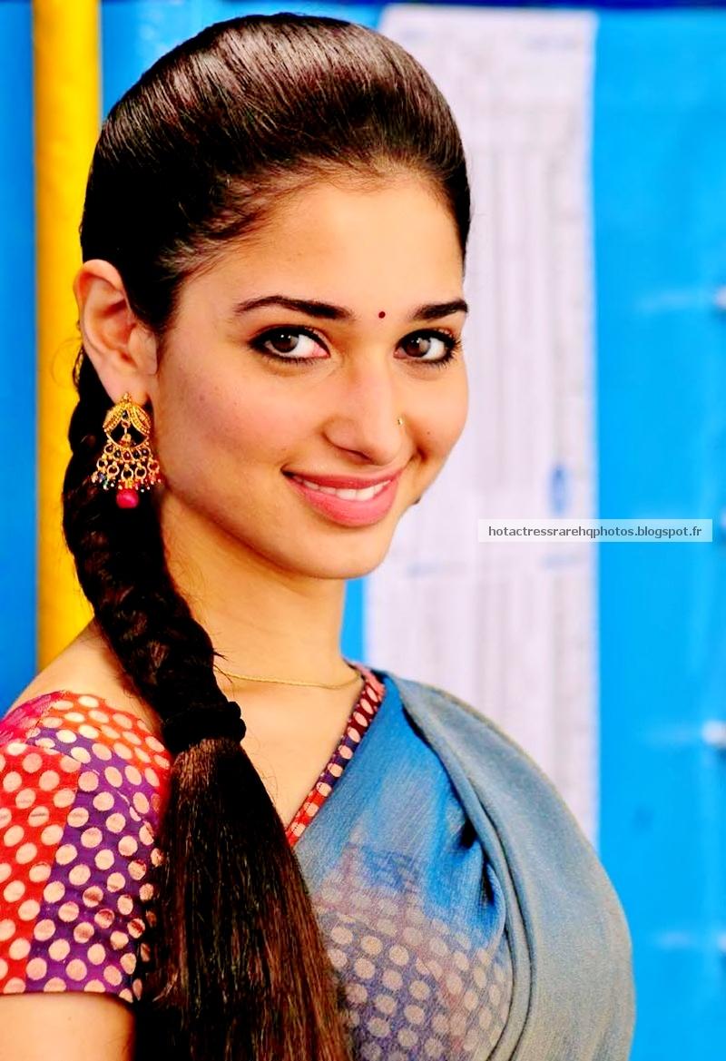 Tamanna Bhatia in Saree at Trisha Saree Showroom Launch - Tamanna ...