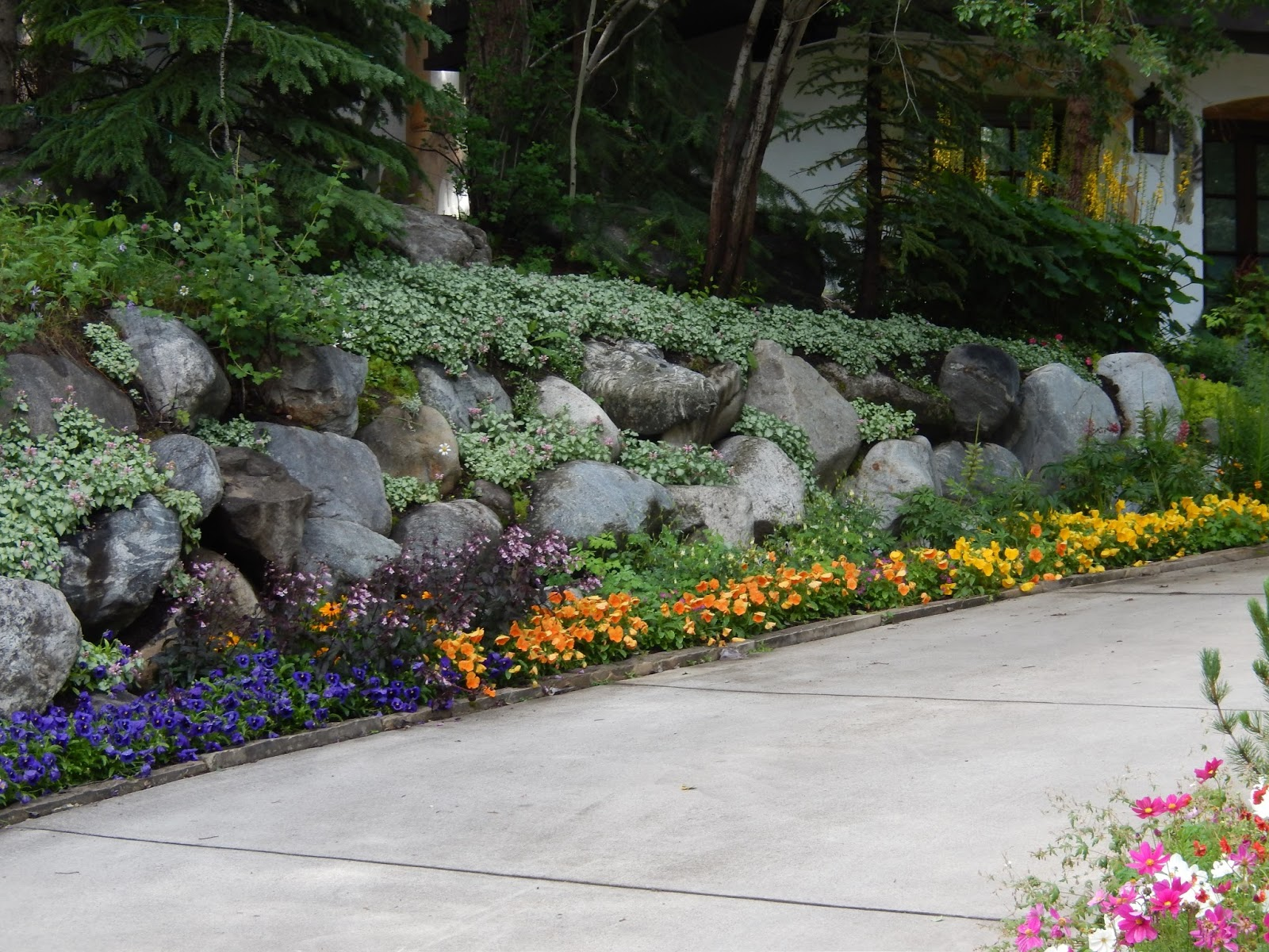 rambler landscaping ideas