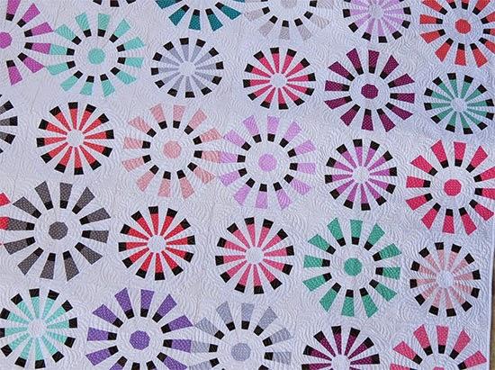 Modern Dresden Fan/Plate Quilt Pattern