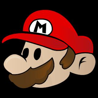 Mario con su gorra roja para imprimir