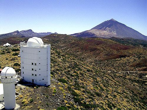 Astrof sica y f sica el telescopio solar m s grande de - Energia solar tenerife ...