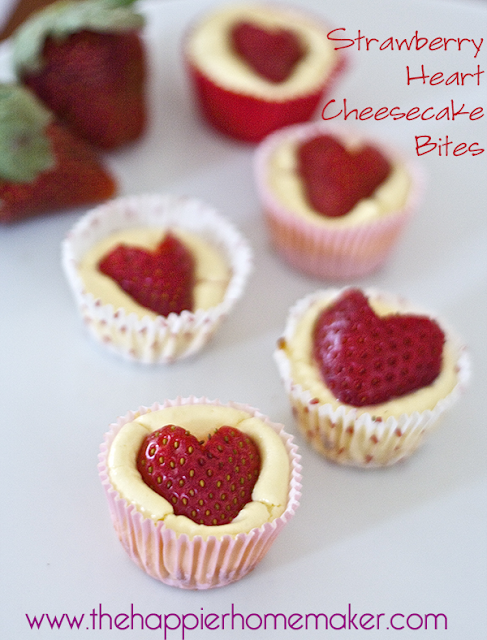 Be Different...Act Normal: Valentine Strawberry Cheesecake Bites