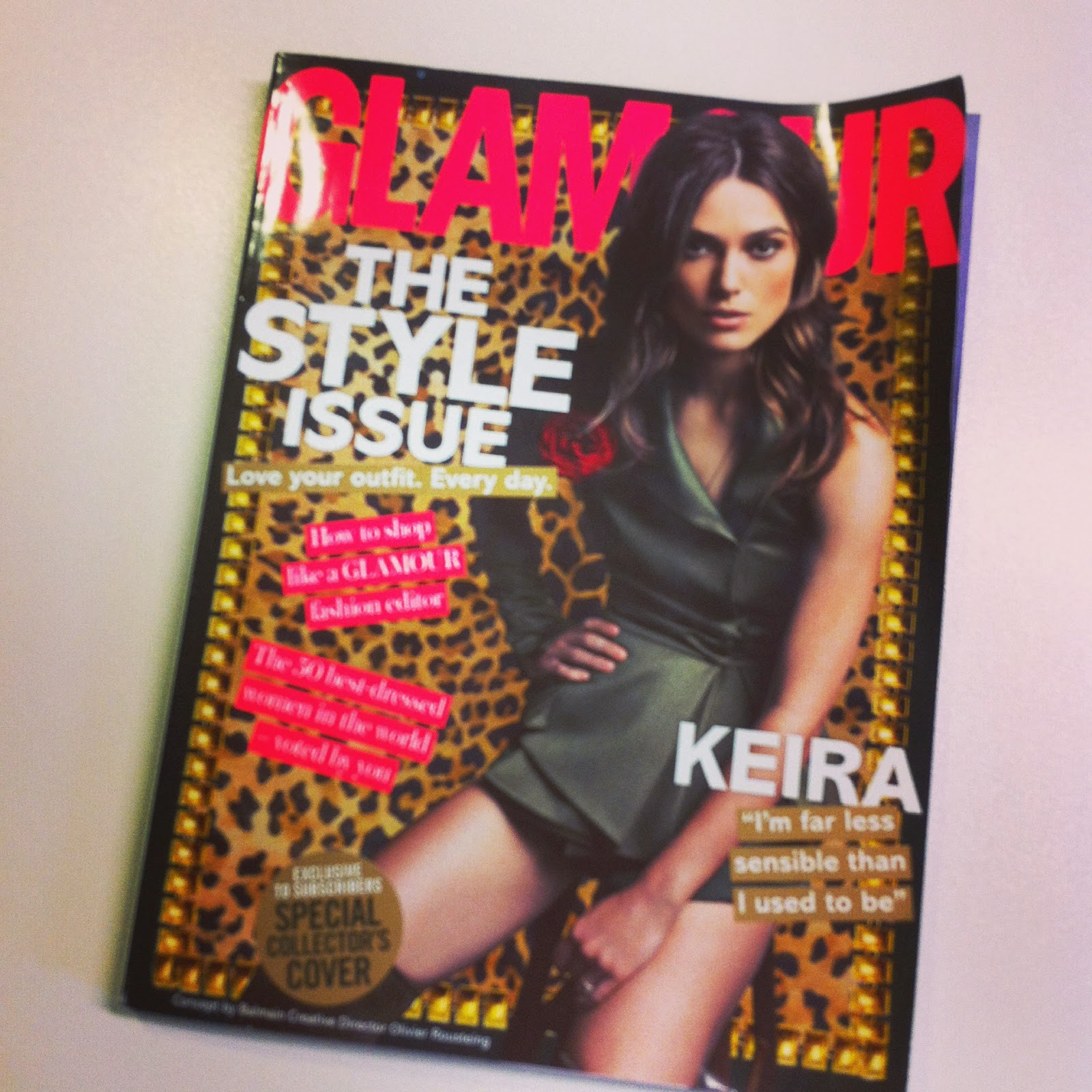 November Glamour Magazine