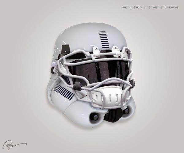 NFL Proponen nuevos diseños de los cascos de los 32  - Imagenes De Cascos De Futbol Americano
