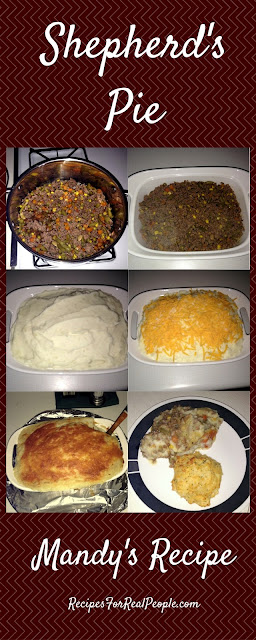 Mandy's Shepherd's Pie recipe with step-by-step photos.