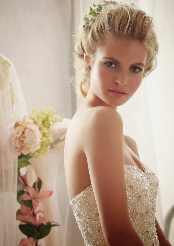 wedding dress mori lee 2014 bg 2603 160 Mori Lee by Madeline Gardner Spring 2014 Collection   Part 2