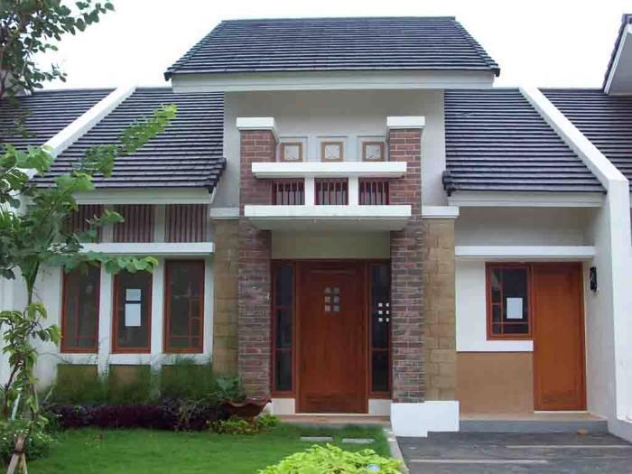 minimalis model rumah depan modern model rumah depan minimalis modern