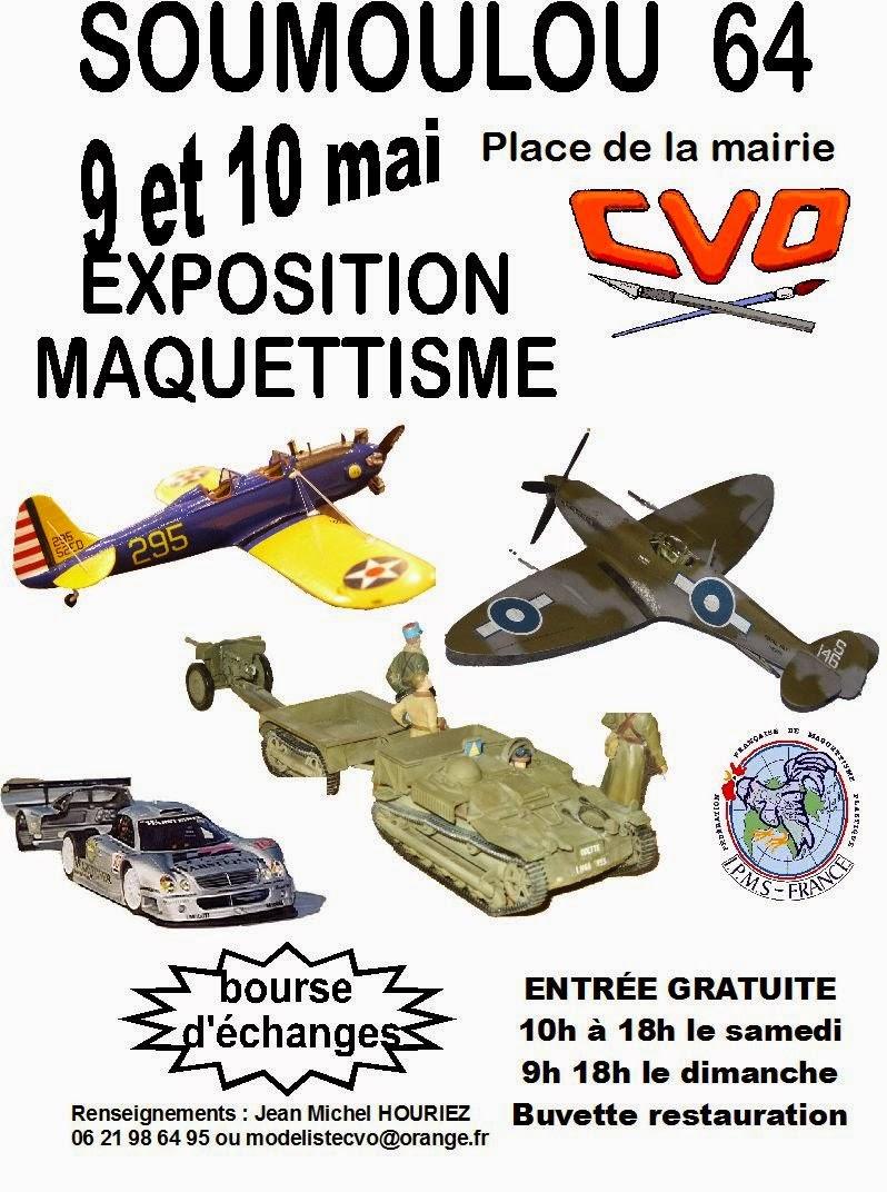 Exposition CVO Maquettisme Soumoulou2015