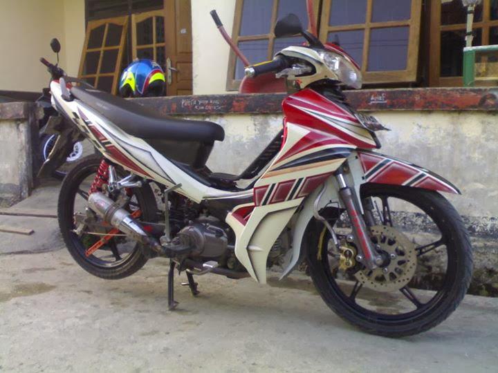Foto-foto Modifikasi Yamaha Jupiter Z title=