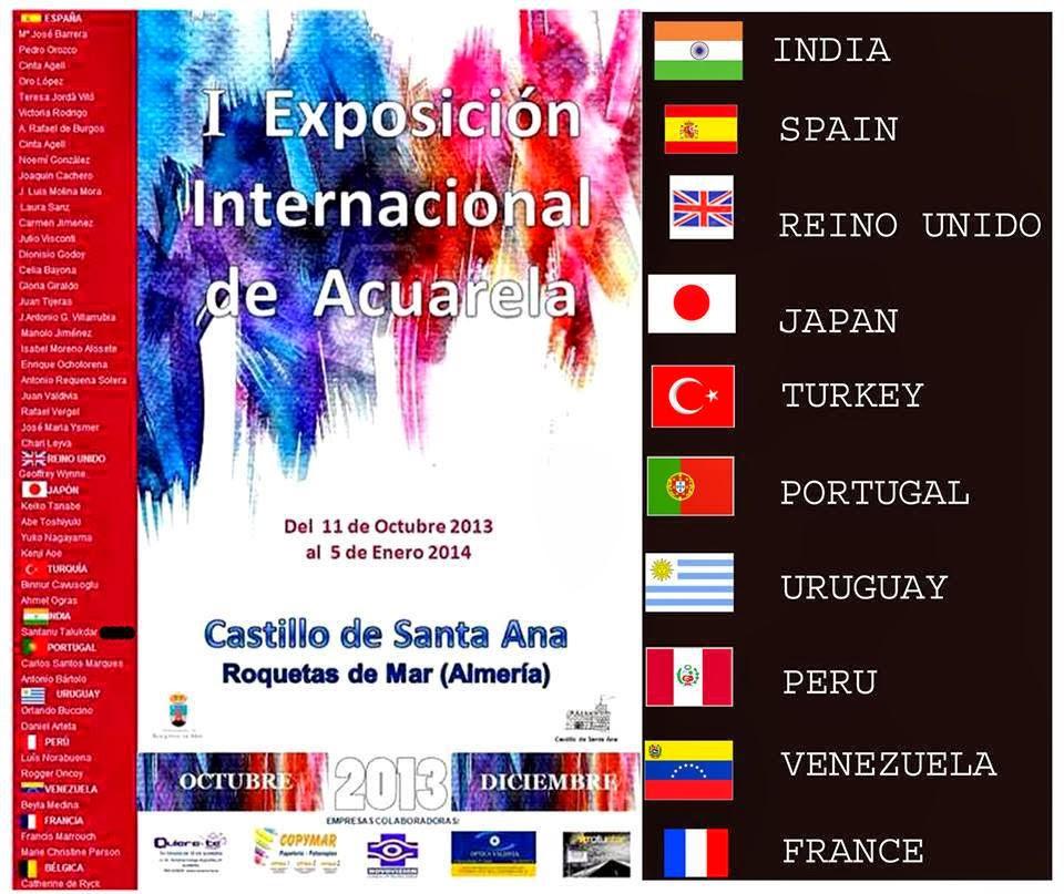 Exposición Internacional de Acuarela de Almería