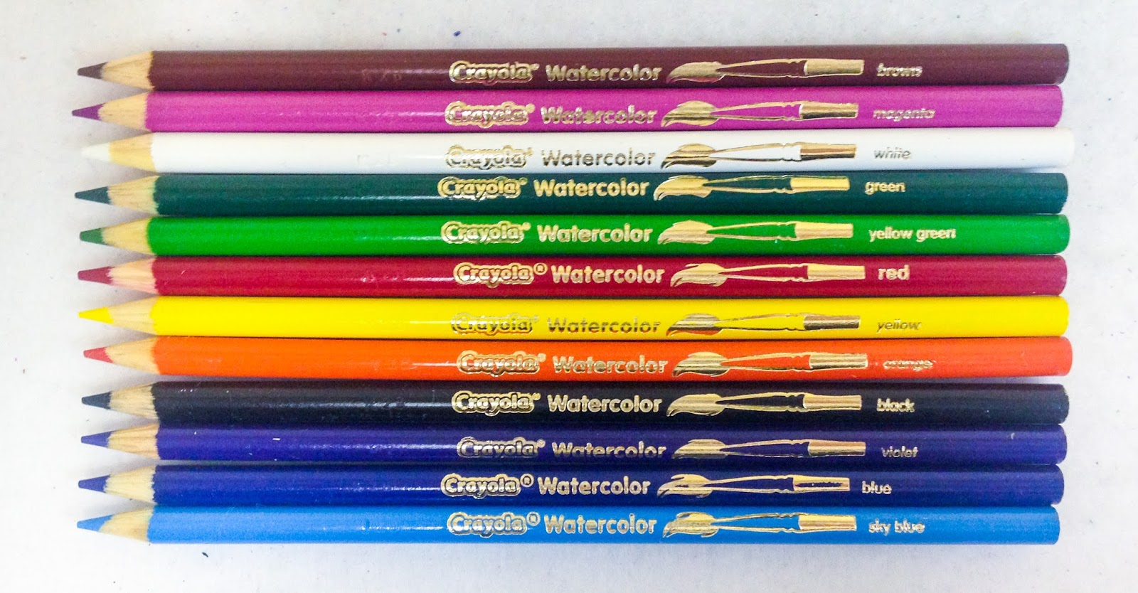 Crayola Water Color Pencils Jenny S Crayon Collection