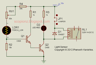 Light Sensor Circuit