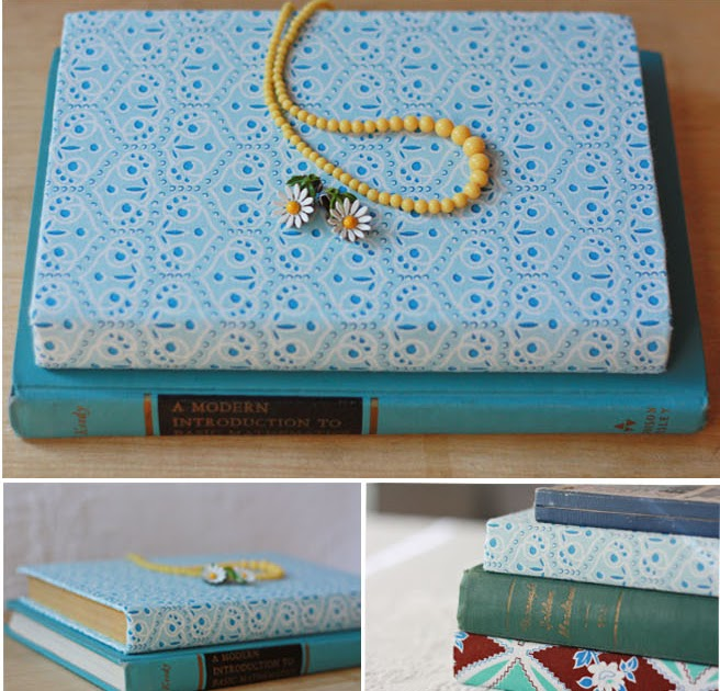 Fabric Covered Book : Amy j delightful fabric covered book how to tutorial