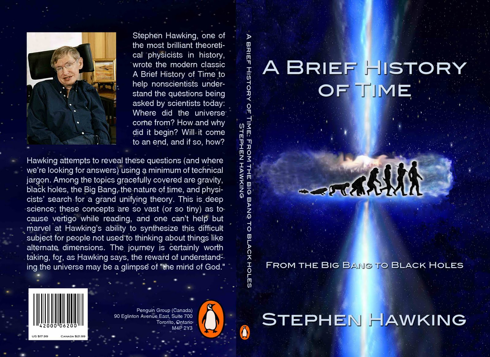 brief history The paperback of the a brief history of time: from the big bang to black holes by stephen hawking at barnes & noble free shipping on $25 or more.