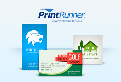 Printrunner, Business Cards, Online Printing Service, Giveaway