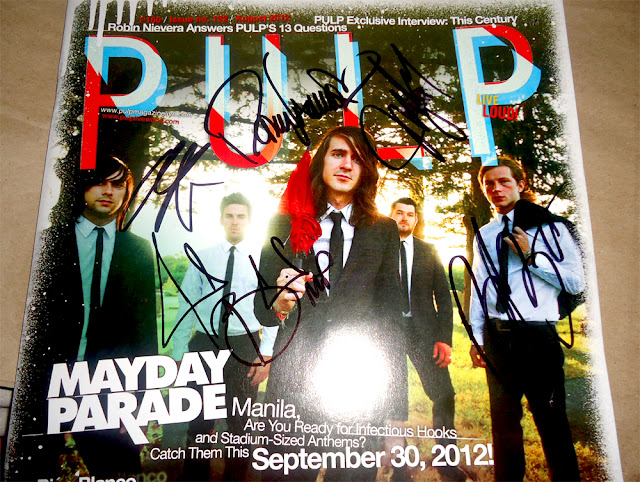 Anrie a journey to the new world mayday parade a skylit drive heres the signatures and meet an greet of mayday parade m4hsunfo