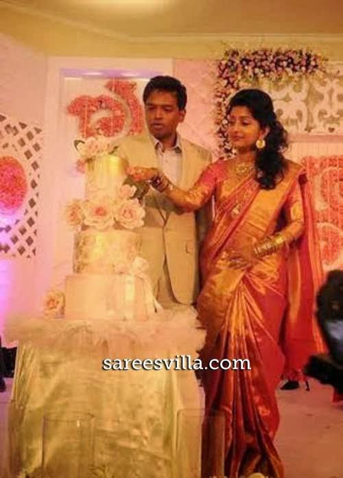 Meera Jasmine and Anil John Reception