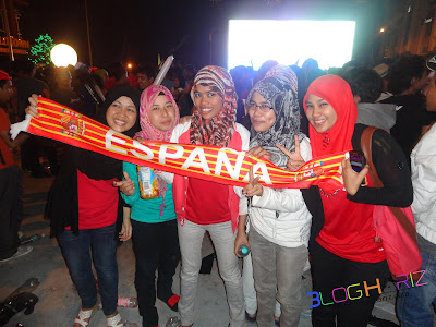 5 Final Euro 2012 di I City Shah Alam