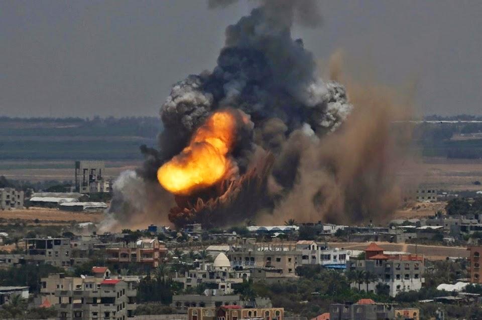 Israel bombardeia palestinos, que vergonha, repugnante