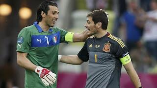 "Casillas: ""Buffon ha sido mi ejemplo a seguir"""