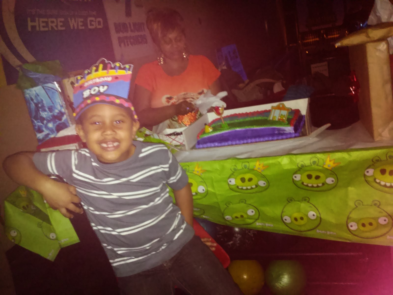Jaden's 5th Birthday
