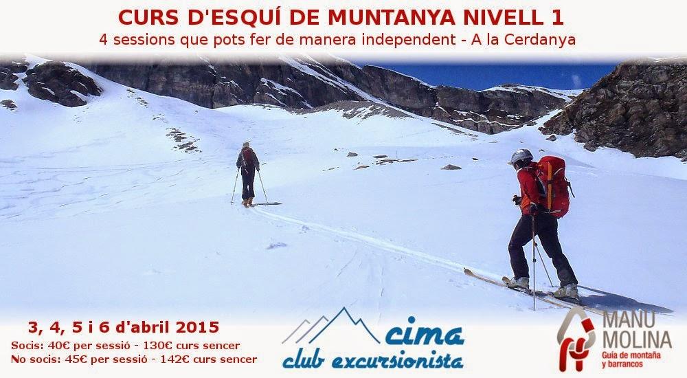 Curso esquí montaña 2015