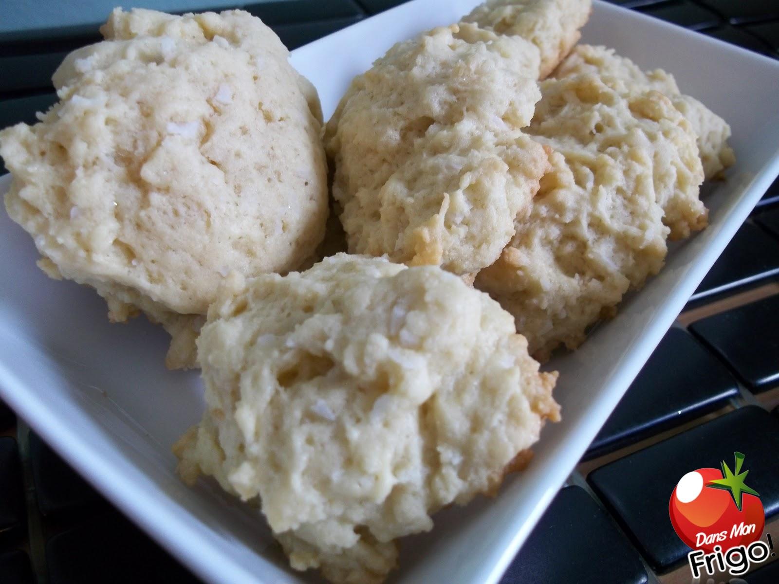 Dans mon frigo biscuits la noix de coco for 750g dans mon frigo