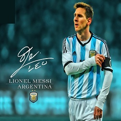 Foto Messi Captain Argentina