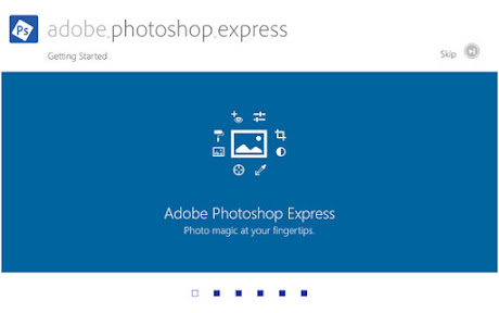 Adobe Photoshop Express untuk Windows 8