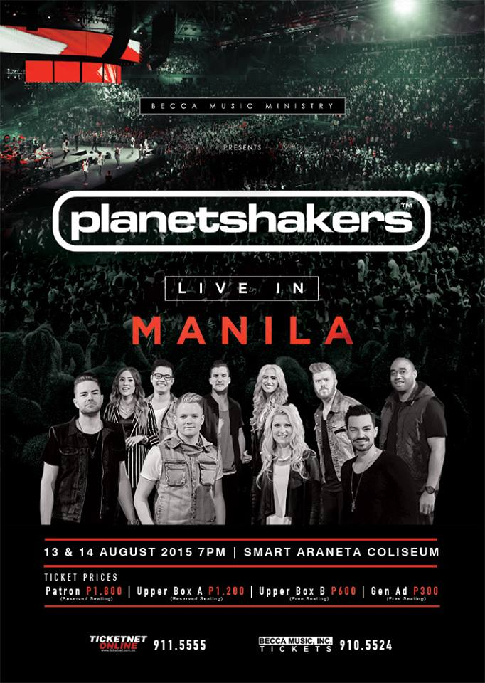 Justice Live in Manila Planetshakers Live in Manila