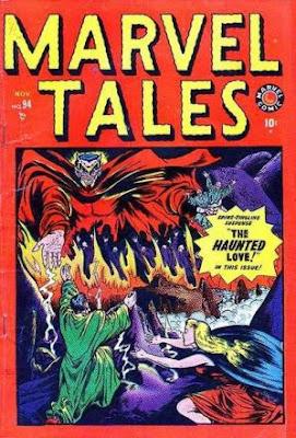 Haunted Love Marvel Tales