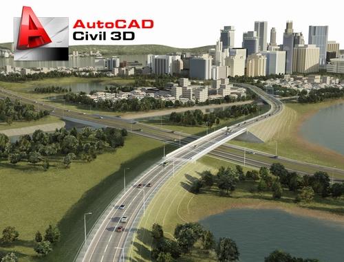 Autodesk AutoCAD Civil3D 2012 (1 dvd)