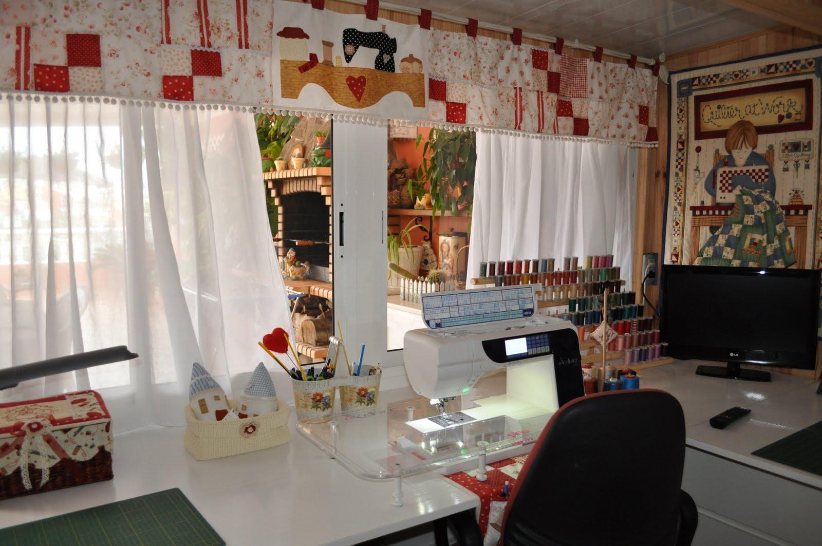 Mis labores y costuras: Mi cuarto de costura