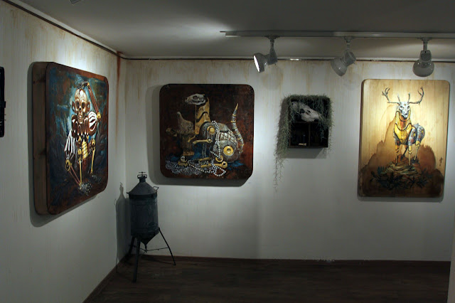 "Coverage Of Pixel Pancho ""The Garden Of Eden"" New Solo Show In Turin, Italy 4"