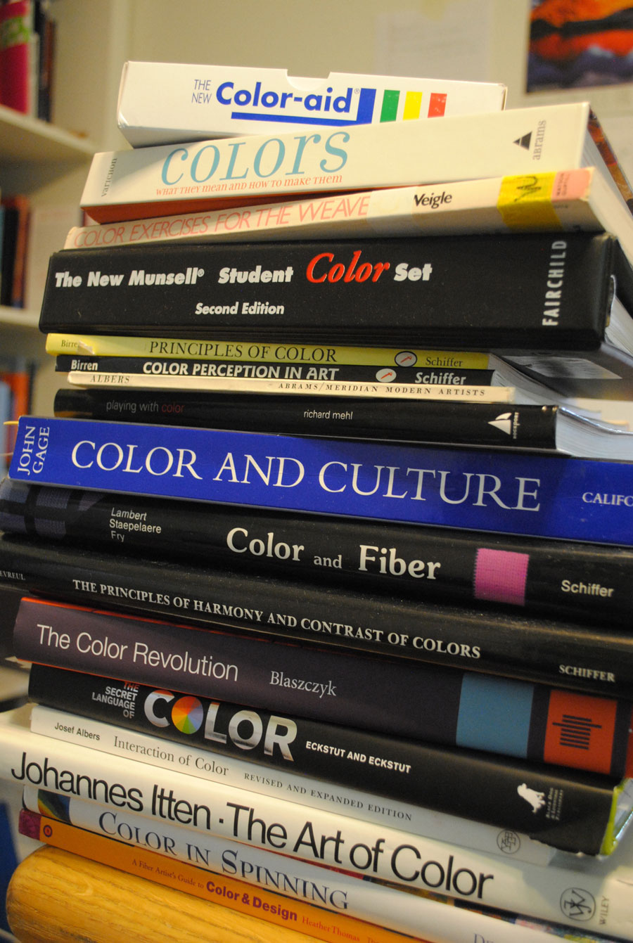 I Have One More Week Before The Next Workshops And Suspect Ill Use Most Of It Savoring These Books Learning About Color Though There Are