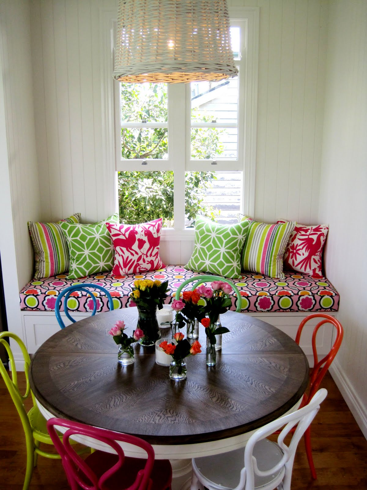 Decora O R Stica E Colorida Para Cozinhas E Sala De Jantar Del  -> Sala De Estar Pequena E Rustica