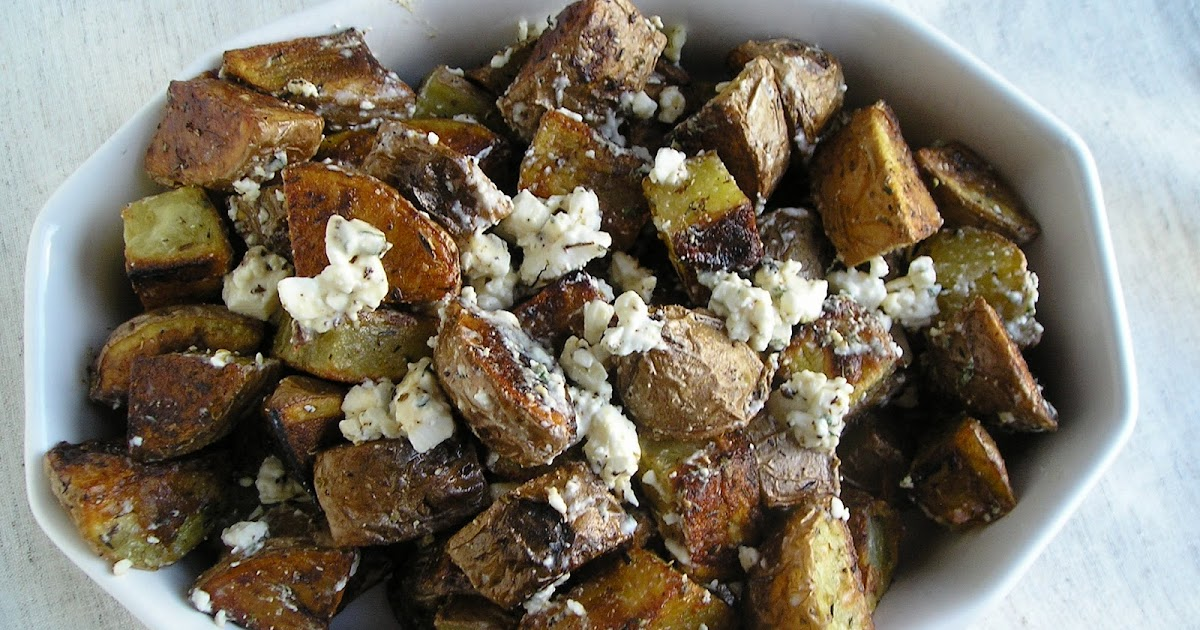Improv Challenge: Greek Roasted Potatoes with Feta and ...